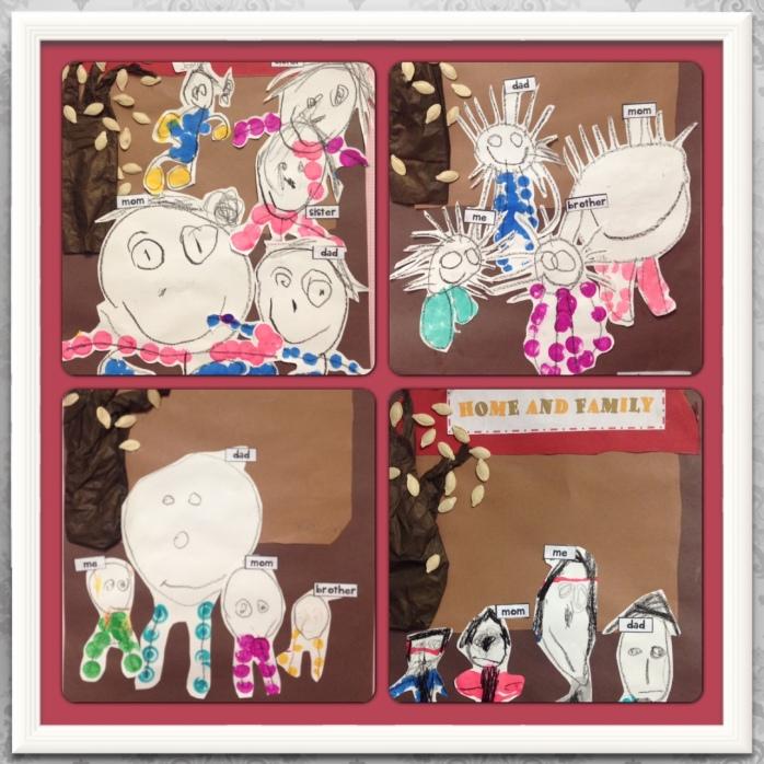 Giraffe Class: Home and Family Art